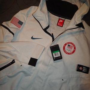 NIKE USA OLYMPIC JACKET HOODIE XL MEN NWT $275